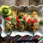Crab Stuffed Chile Rellenos