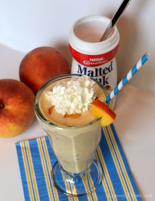 Malted Peach Frappe3