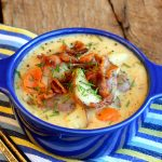 Rustic Potato Chowder with Bacon