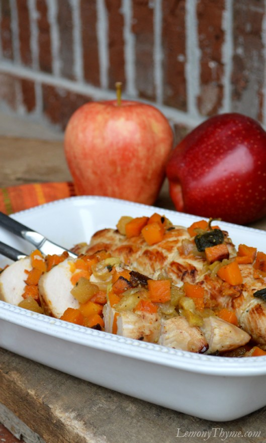 Butternut Squash Apple & Sage Stuffed Turkey Tenderloin4