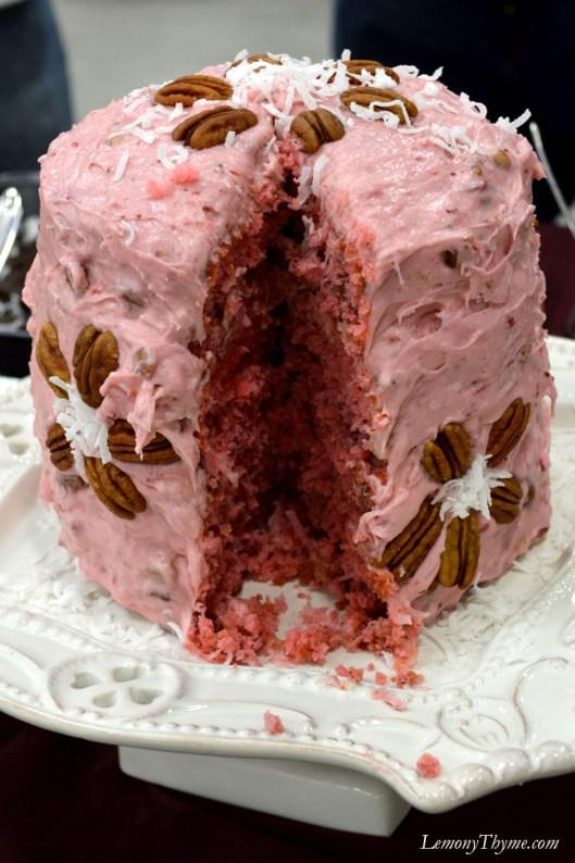 Strawberry Pecan Cake5