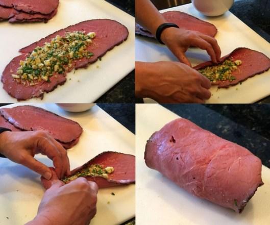 Braciole {Italian Beef Rolls}