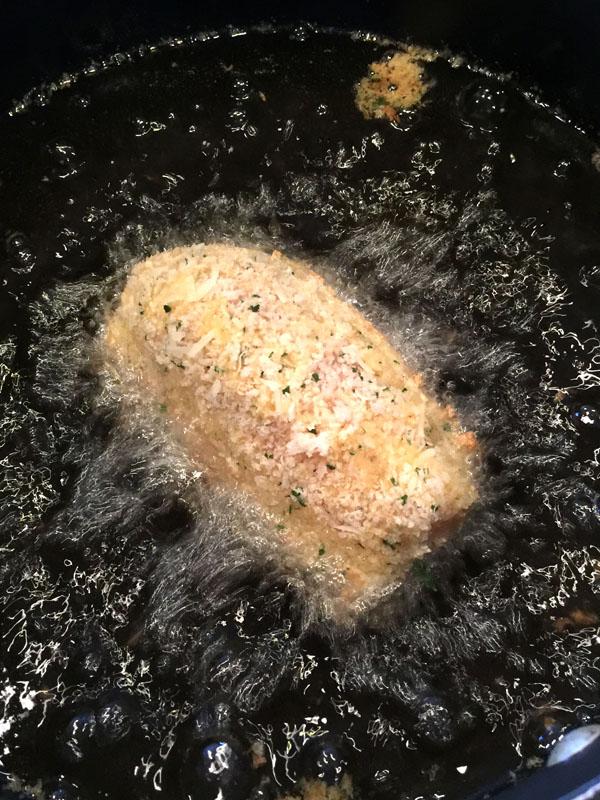 Chicken Kiev Browning