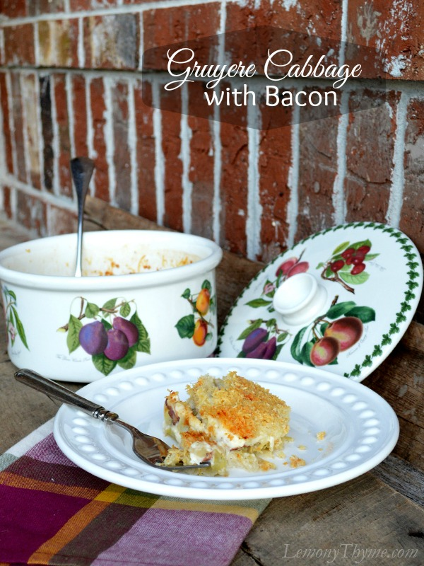 Gruyere Cabbage with Bacon3