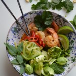 Thai Spicy Shrimp Buddha Bowl