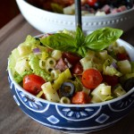 Chopped Italian Submarine Salad6