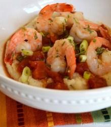 Lightened Up Shrimp & Grits