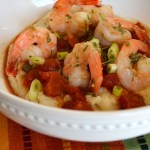 Lightened Up Shrimp & Grits