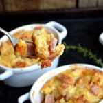 Rosemary Ham & Swiss Savory Bread Pudding4