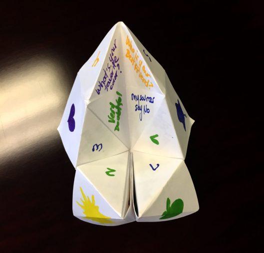 Fortune Teller Love Notes