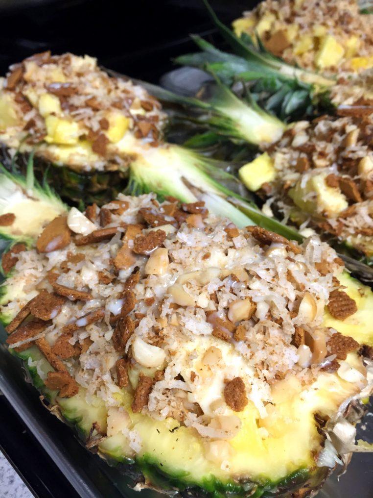 Pina Colada Baked Pineapple4
