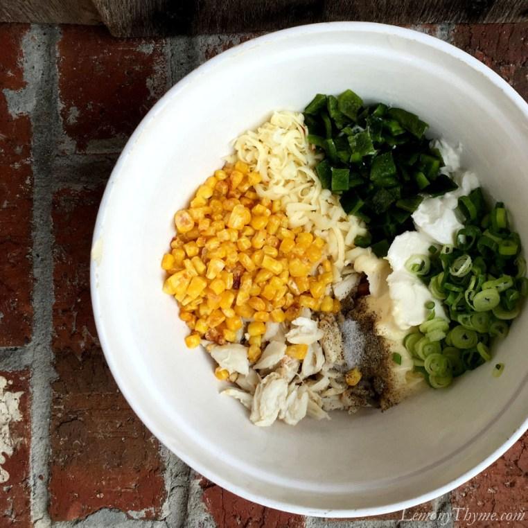 Roasted Corn & Poblano Crab Dip4