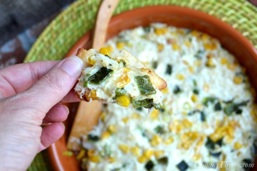 Roasted Corn & Poblano Crab Dip5