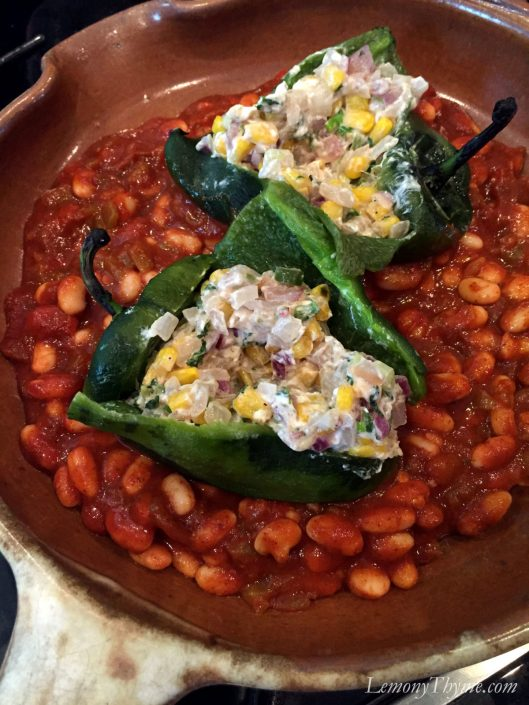 Savory Egg Stuffed Poblano Peppers1