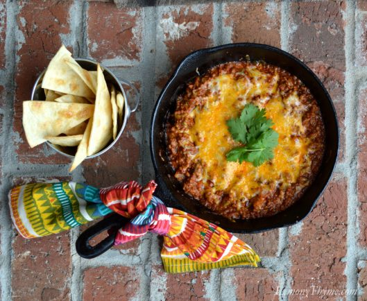 Cheesy Beef Enchilada Dip1