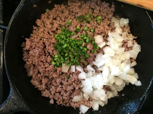Cheesy Beef Enchilada Dip Step 2