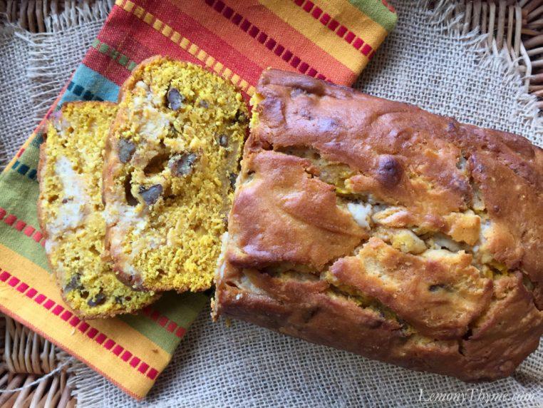 Pumpkin Pecan Bread1