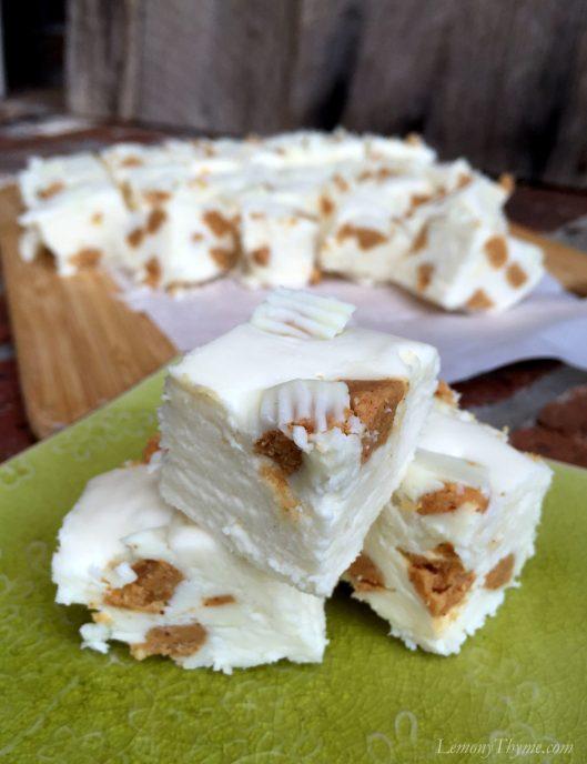 White Chocolate Reeses Fudge2