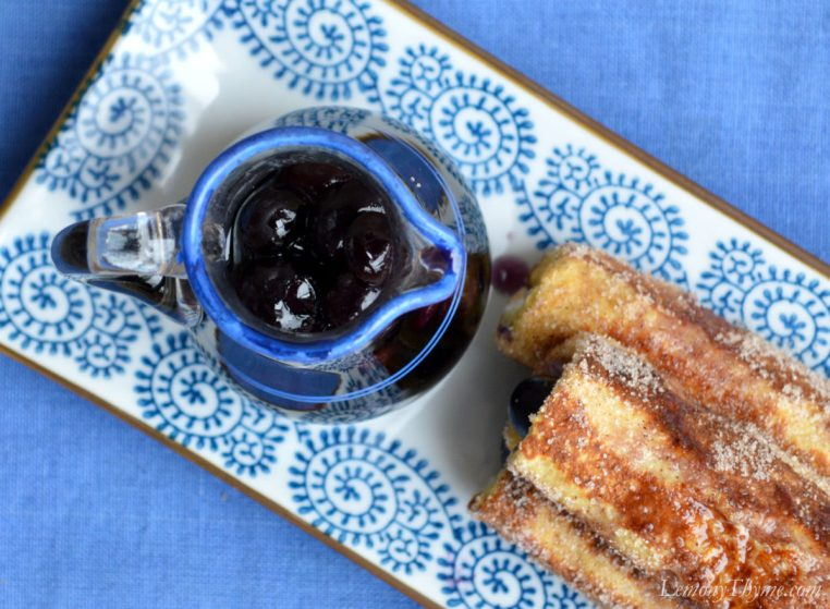 Blueberry Cream Cheese French Toast Roll Ups5