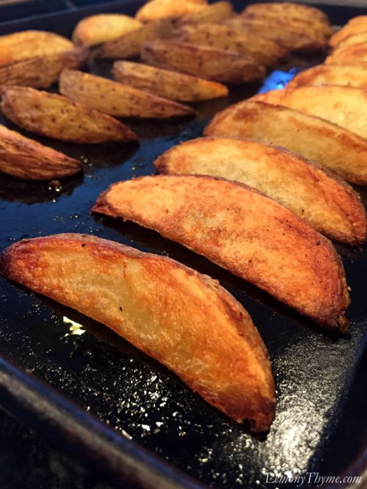 Crispy Baked Potato Wedges2