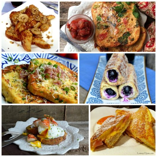 French Toast Collage | LemonyThyme.com