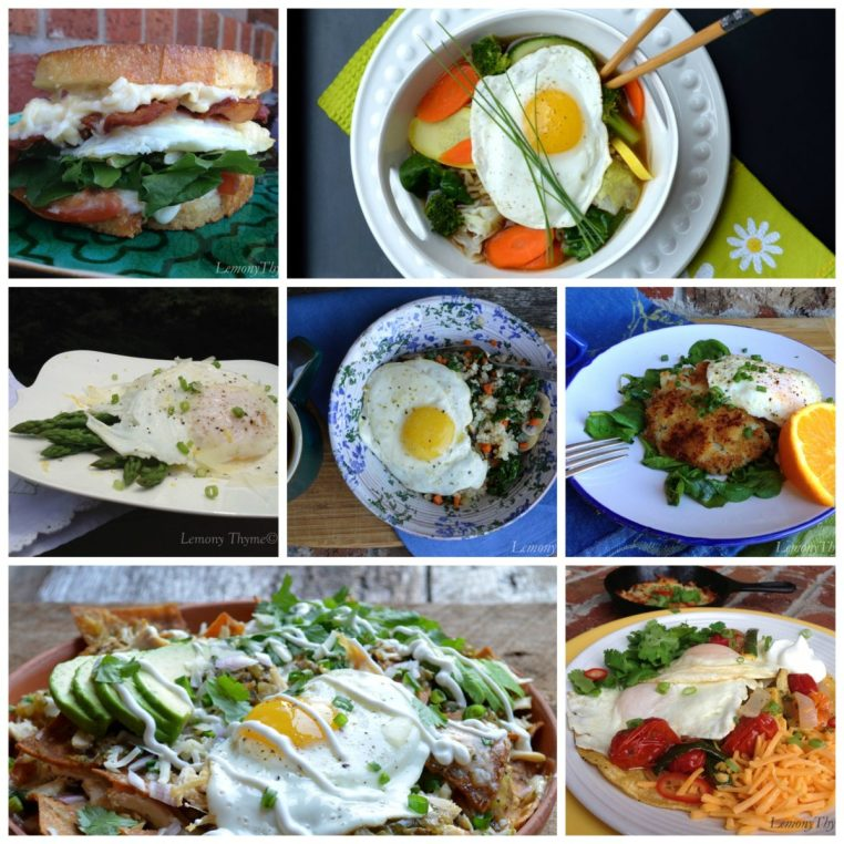 Fried Egg Collage