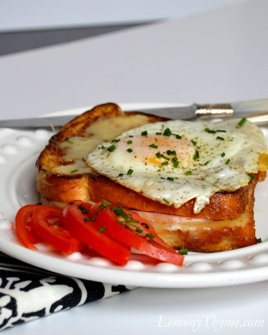 Lightened Up Croque Monsieur1