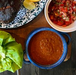 This chipotle salsa is super addicting.
