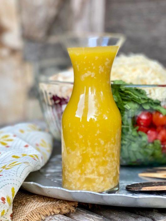 Roasted Garlic & Lemon Vinaigrette