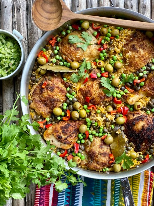 Latin Chicken & Rice