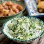 German Cucumber Salad (Gurkensalat)