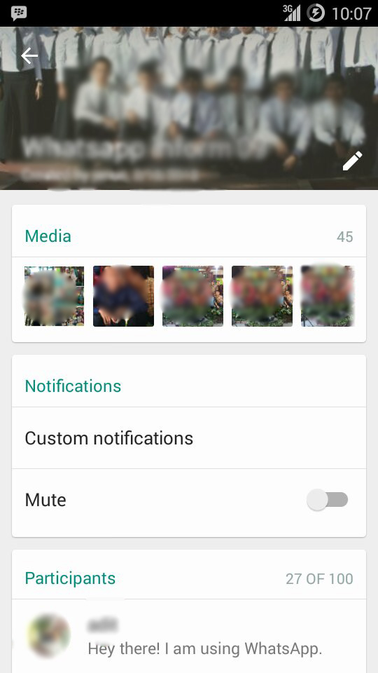 Membuat custom notifications whatsapp