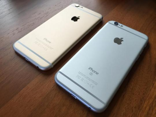 Iphone 6 dan iPhone 6s