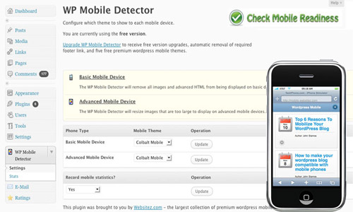 wp-mobile-detector