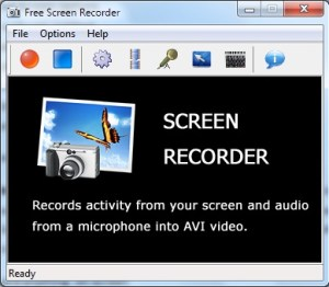 FreeScreenRecorder - Sotfware Perekam Layar