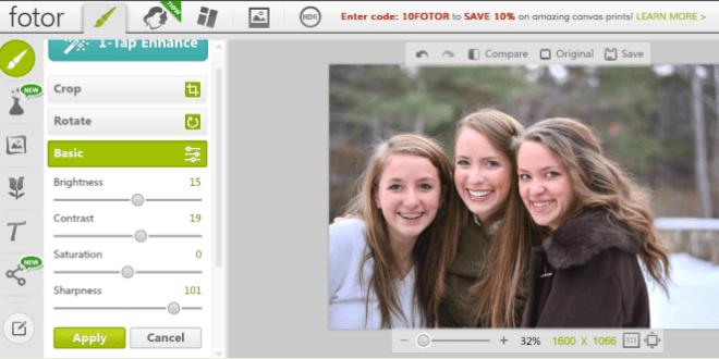 10 website edit foto online