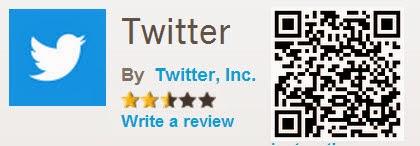 Twitter QR Code Fitur