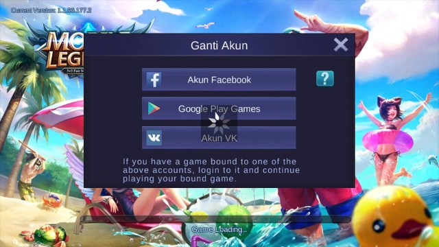 Login Mobile Legends