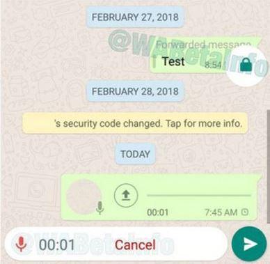 WhatsApp Hadirkan Kemudahan Dalam Merekam Pesan Suara pada Update Terbarunya