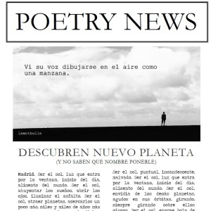 Poetry News – 1ra edición