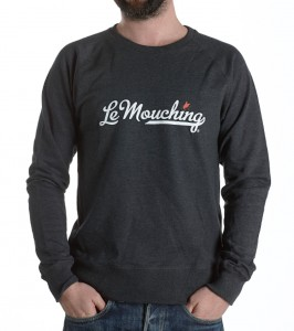 sweat-Le-Mouching-Heather-grey