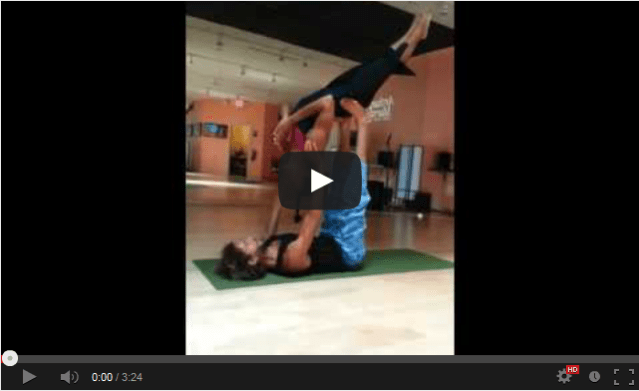flying yoga positions first time