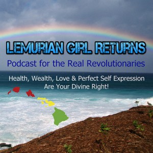 Lemurian Girl Podcast Album Art - Med