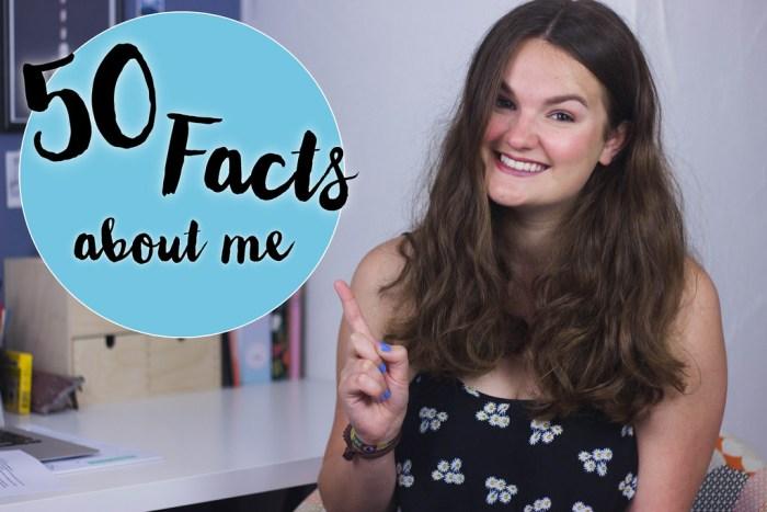 50 Fakten über mich – Video