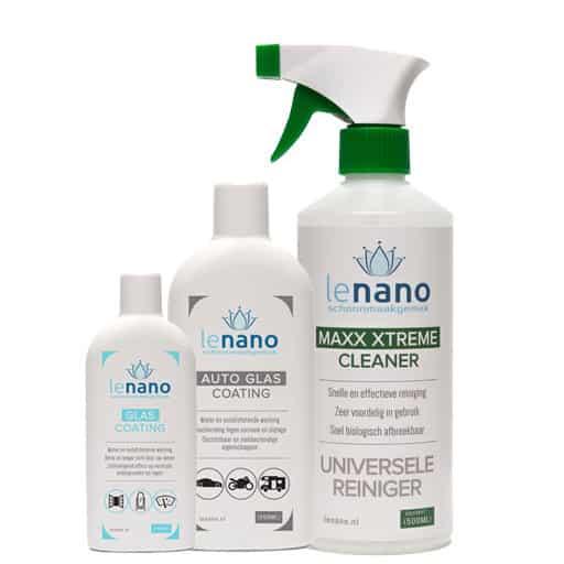 Lenano Auto Glas Nano Coating set