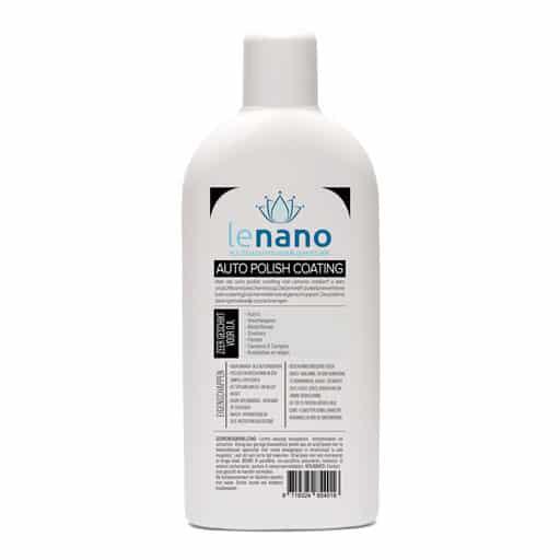 Lenano Auto Polish Nano Coating back