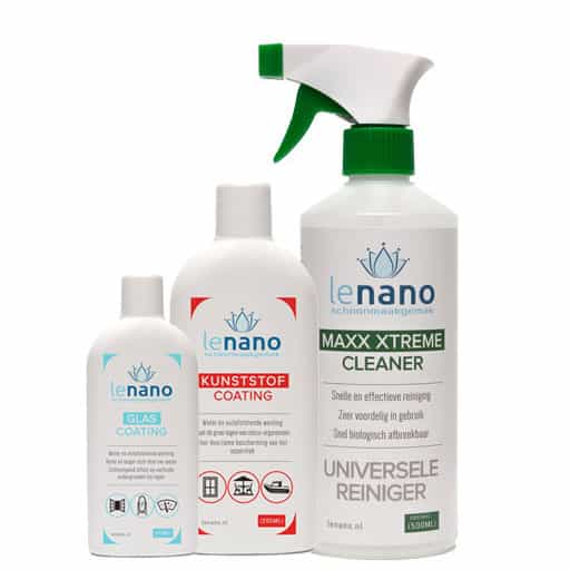 Lenano Caravan Camper Boot Nano Coating set