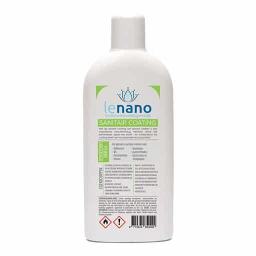 Lenano Sanitair Nano Coating back