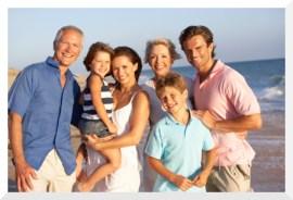 BL - Family beach pic