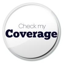 Check my coverage button